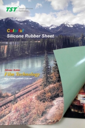 Colorful Silicone Rubber Sheet